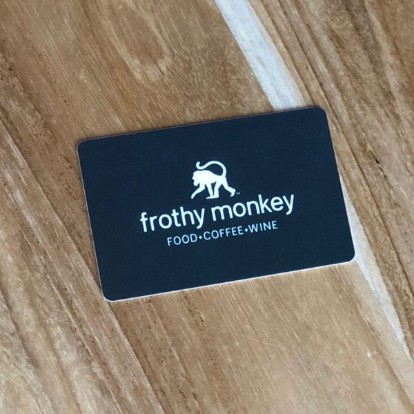 Frothy Monkey Gift Card
